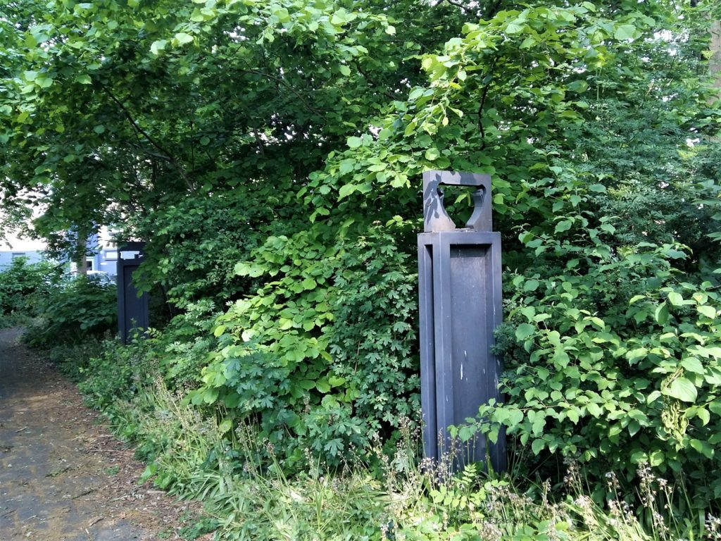 Kunst ligt op straat in IJsselstein
