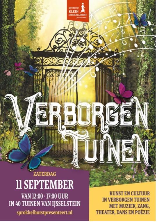 De verborgen tuinen van mevrouw Klein Sprokkelhorst in IJsselstein